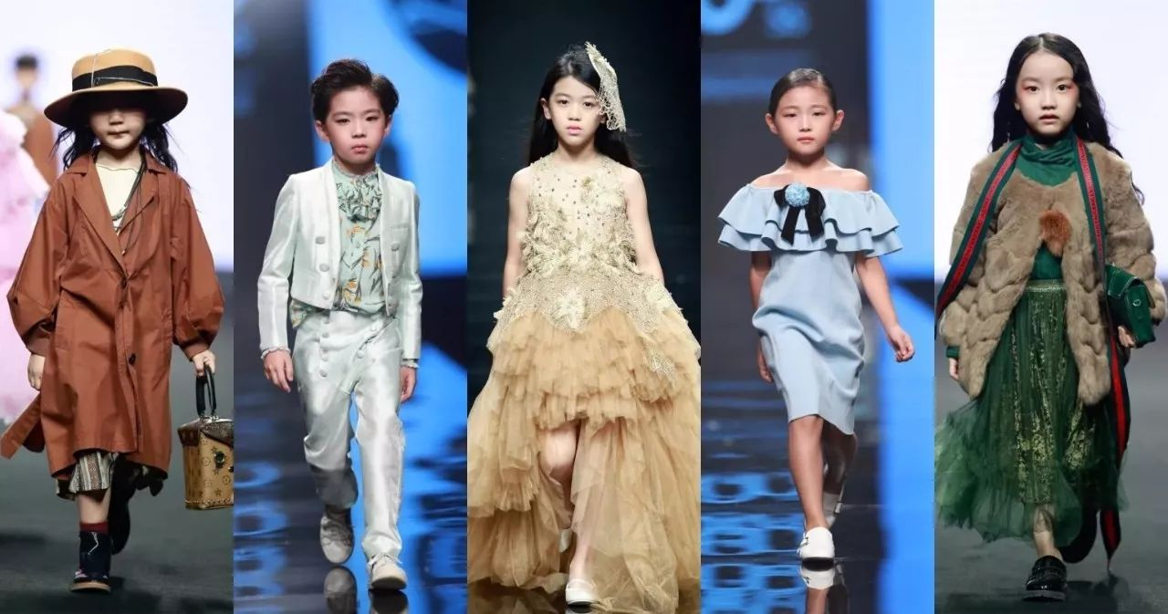 少儿模特走秀 | 潮童星携手中童装品牌玩转三大时装周图片